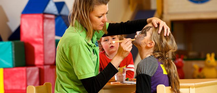 Family Resort Alpenpark, Seefeld, Austria - Nursery facepainting.jpg